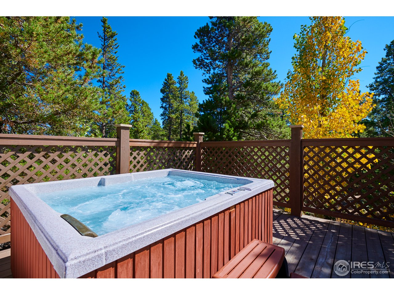 Hot Tub off of Deck
