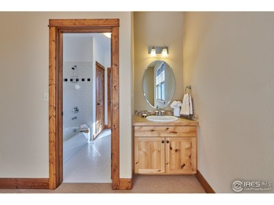 Sink in Upper Bedroom