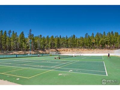 Tennis and skating rink