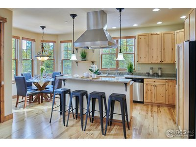 Elegant Kitchen w/Alder Cabinets and Granite