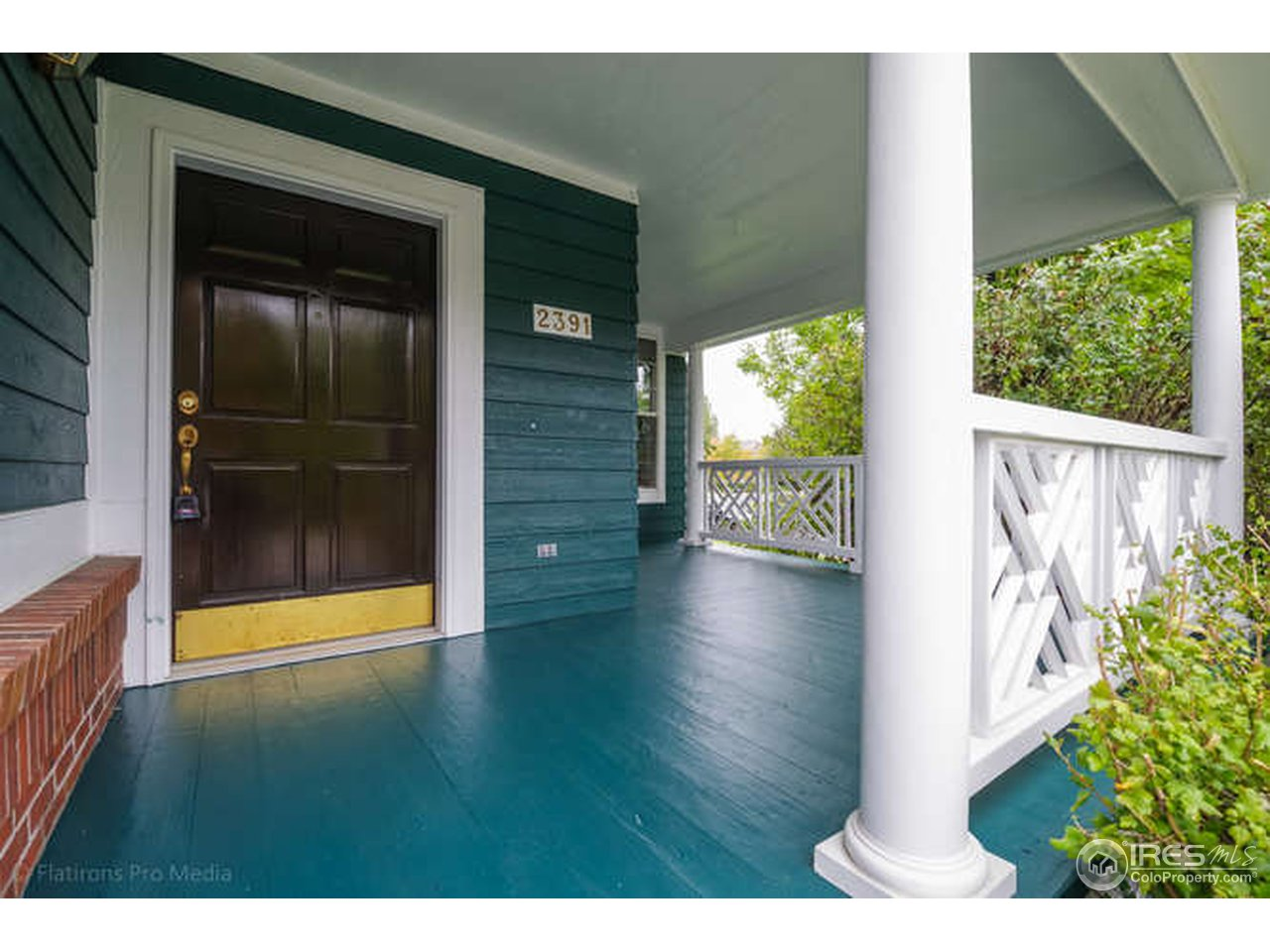 One of Kind Covered Porch