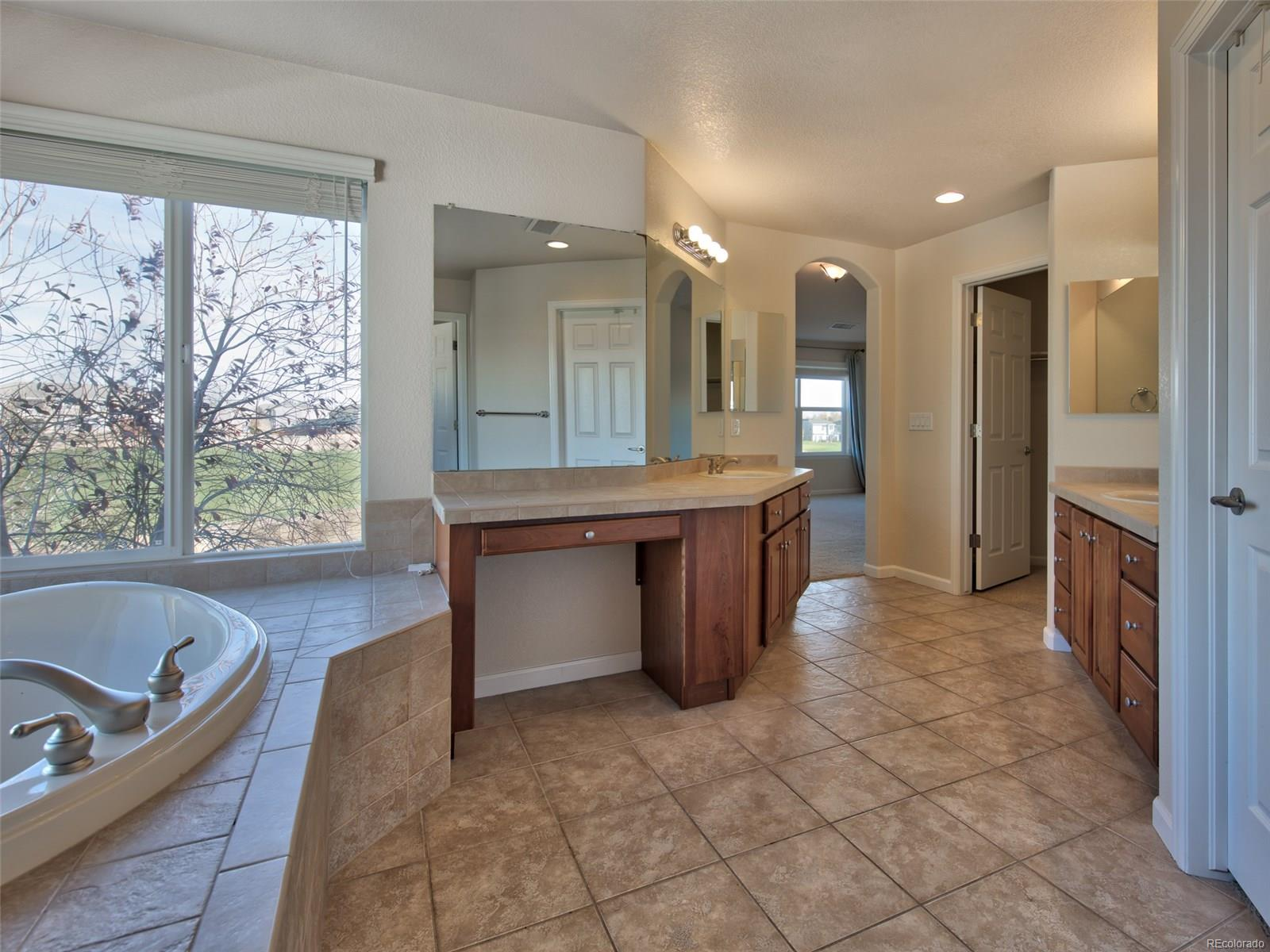 Large Master Bath w/ His/Her Counters/Closets