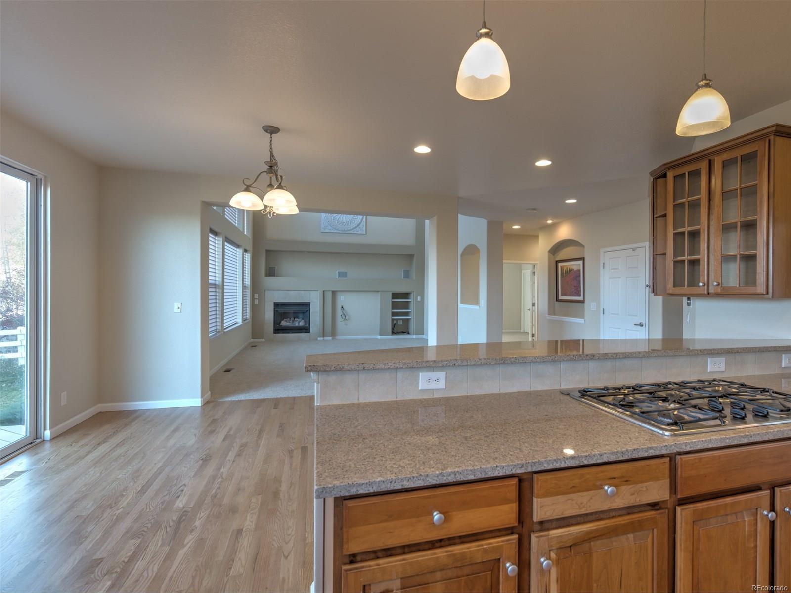Open Floorplan to Family Room