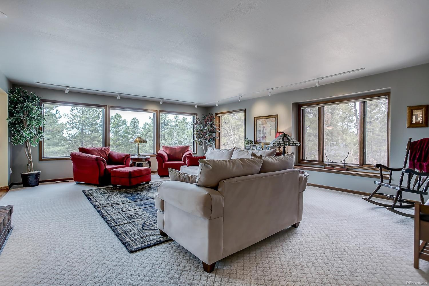 FAMILY ROOM / DEN WITH NEW GAS FIREPLACE
