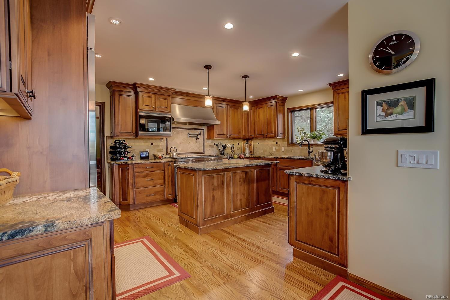 KITCHEN WITH NEW TOP OF THE LINE APPLIANCES
