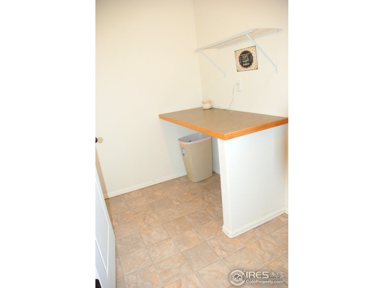 Laundry room, a place to sort and fold