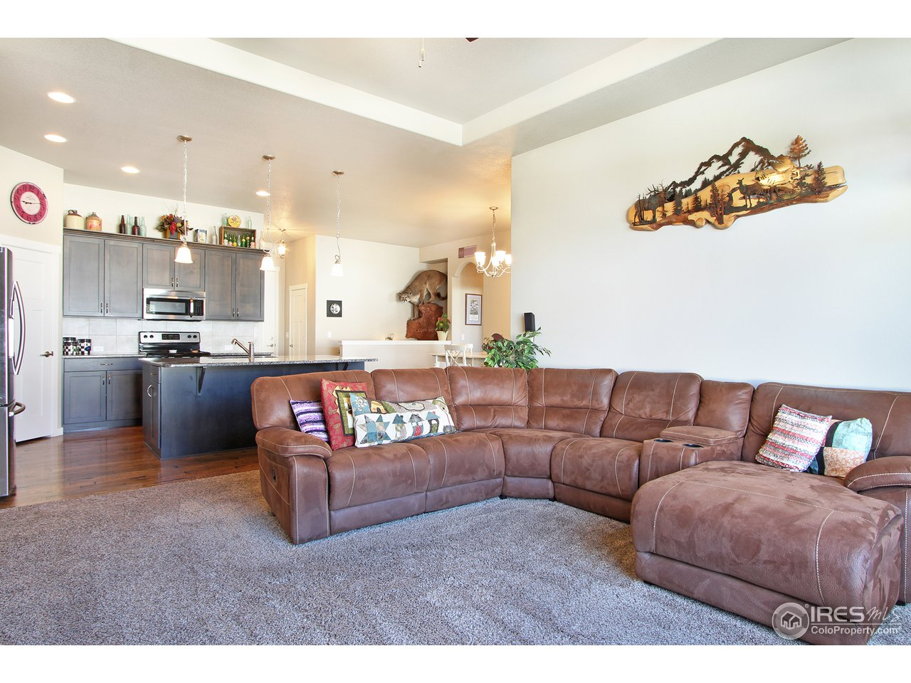 Great room, perfect for entertaining