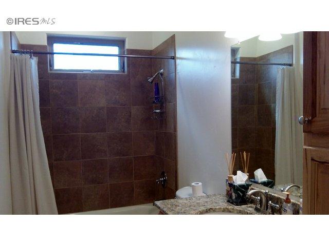 Custom tile shower surround