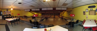 8 Lane Bowling Alley