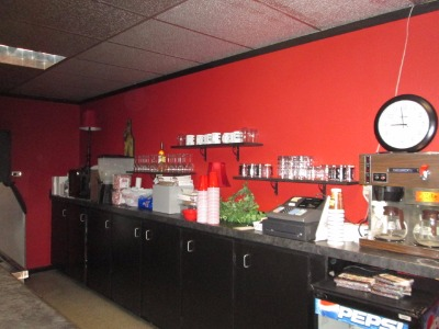 Serving Bar in Banquet Room