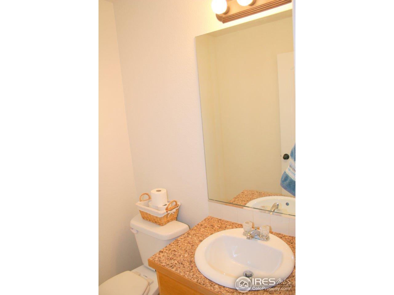 1/2 Bath on Main Level