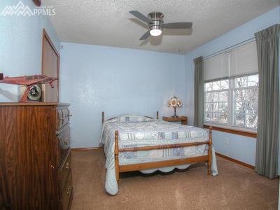 Huge second bedroom up.