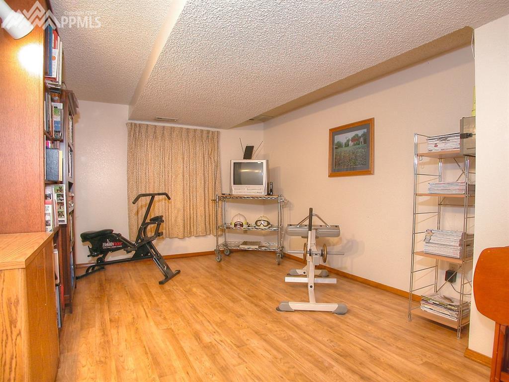 Basement level rec/bonus room.