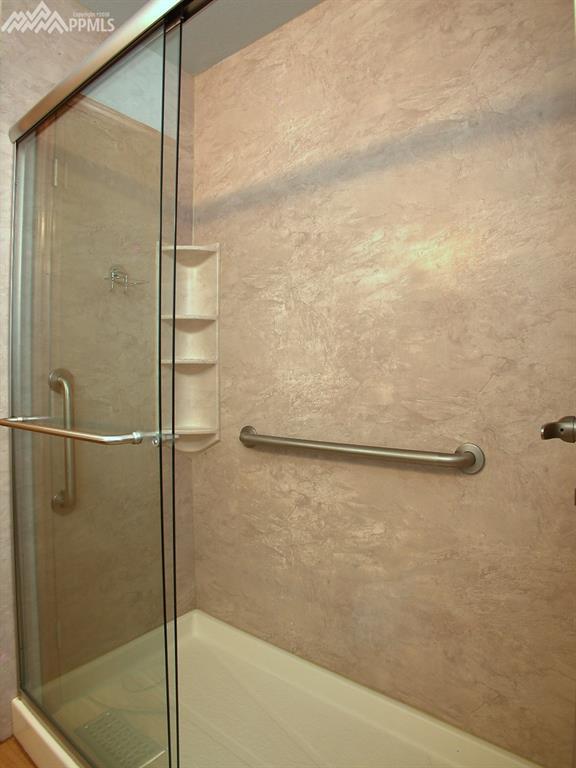 Long master shower.