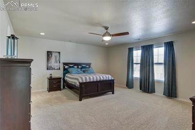 Master Bedroom with adjoining 5-piece bathroom suite