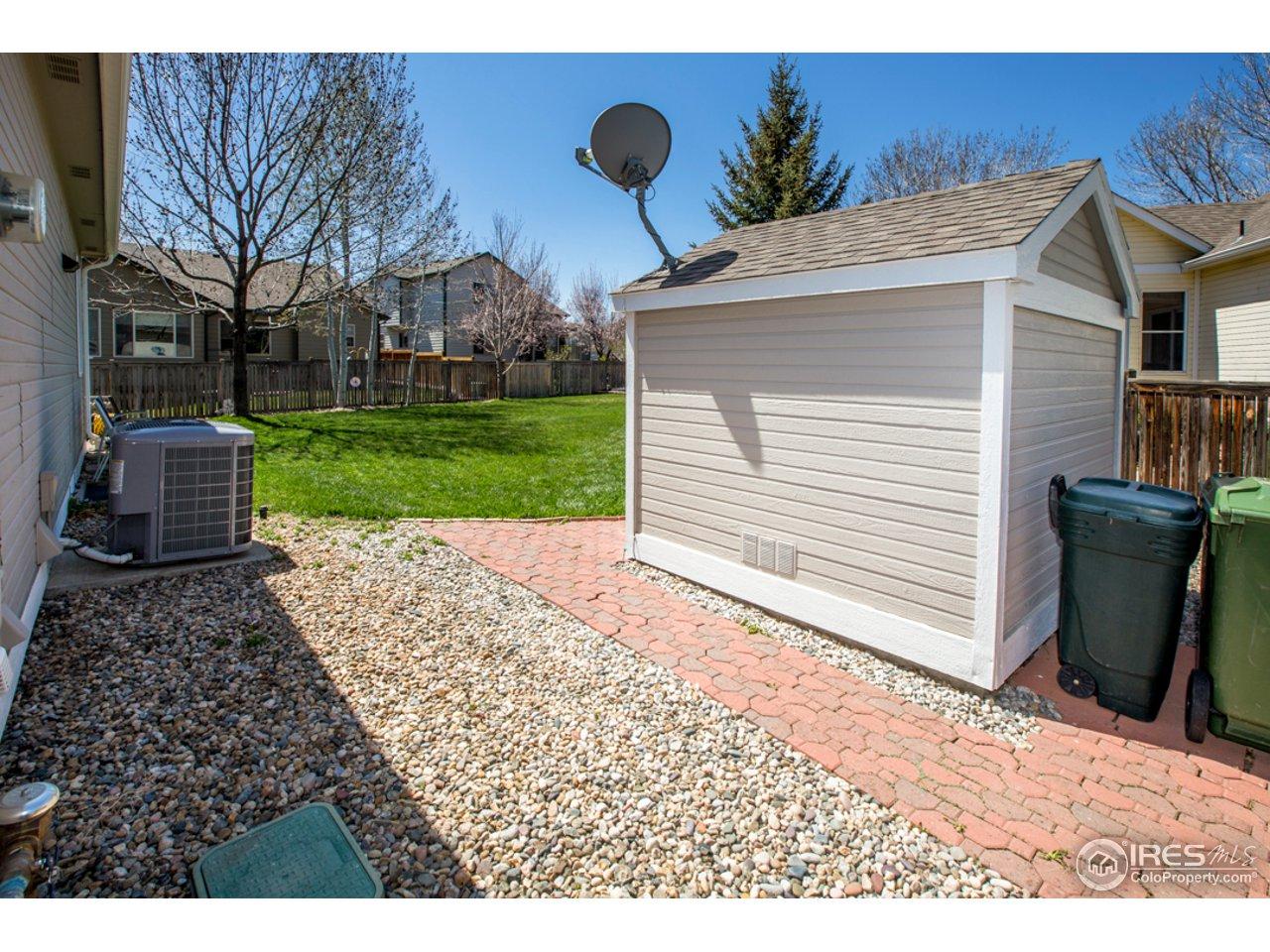 Custom designed/built shed on a foundation
