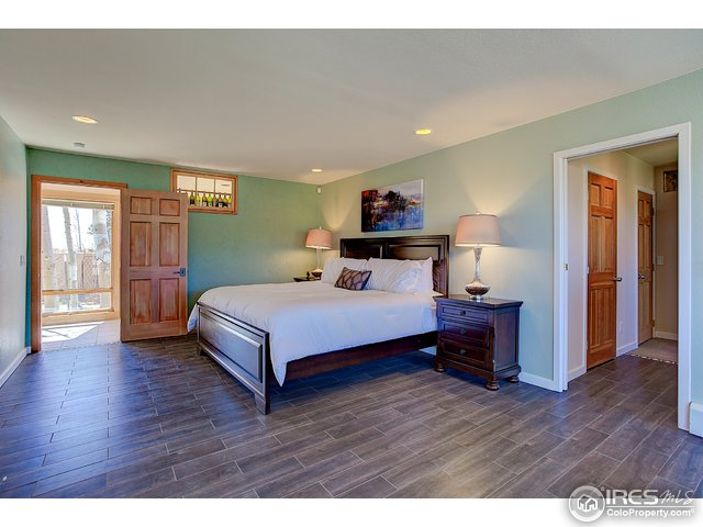 Large master suite