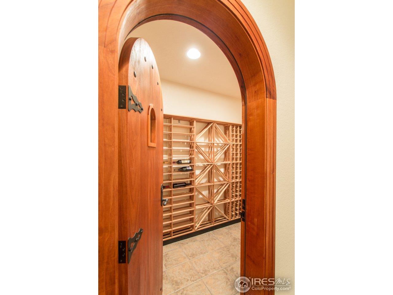 Gorgeous Wine Cellar