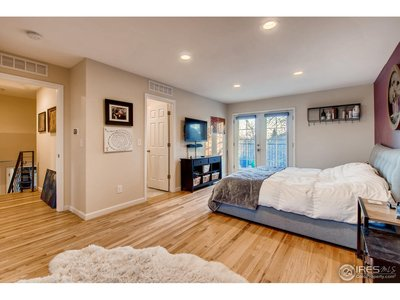 Master Suite opens to walk out balcony
