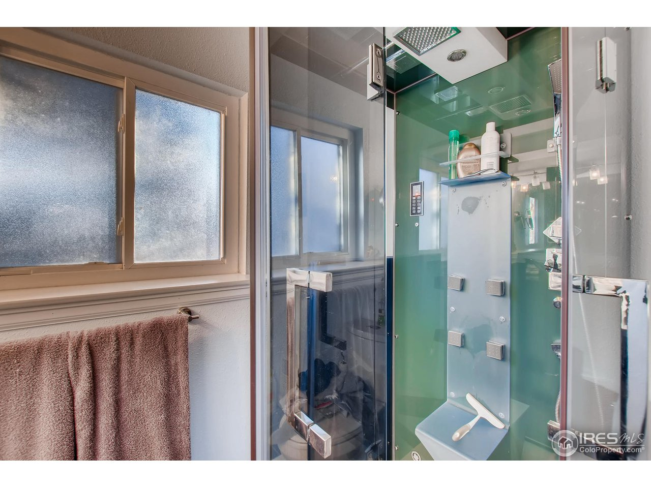 Luxurious Steam Shower in Basement bath