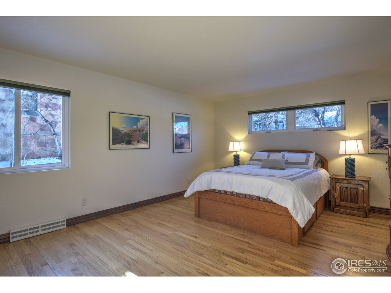 2 master suites, one on main floor!