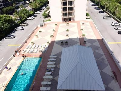 POOL DECK FROM BALCONY