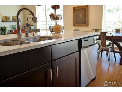 Functional Island w/Sink & Dishwasher