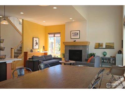 Open Floor Plan to Enjoy Fireplace & Views