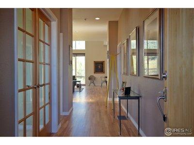 Tasteful Foyer w/Solid Oak Floors