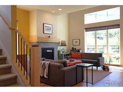 Warm Living Room w/Fireplace