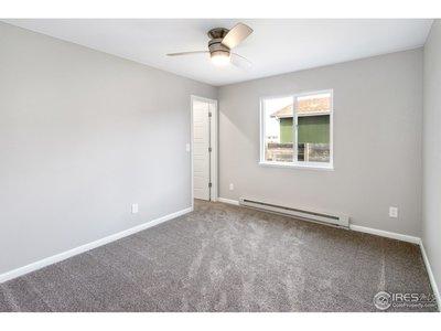 3rd Bedroom w/Walk in closet