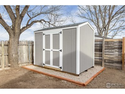 Brand new shed for storage