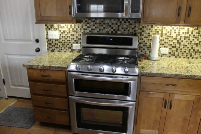 Dual fuel Range - Gas Stove - Electric Oven