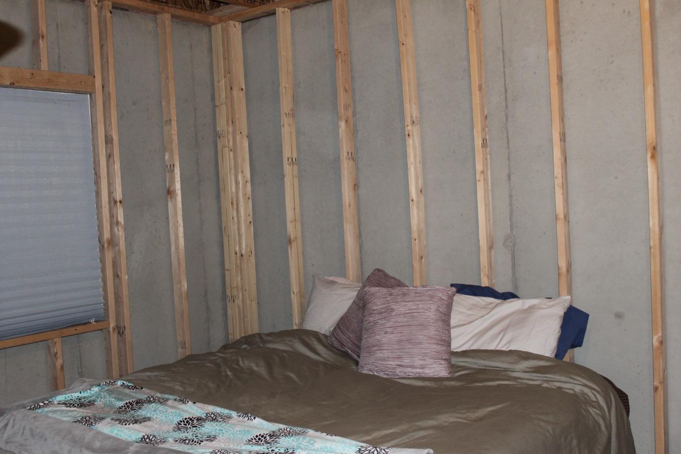 Framed in Guest Bedroom