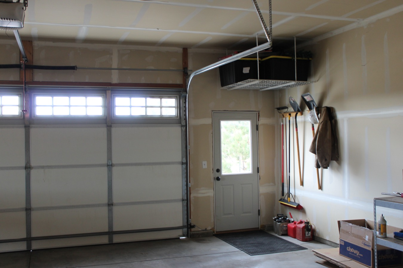 OVER-SIZED GARAGE