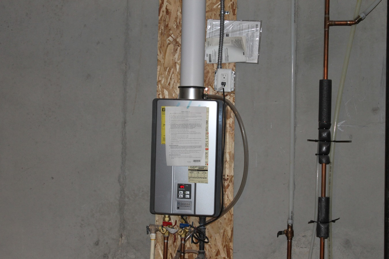 Tankless Hot Water Heater