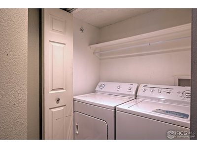 Laundry area - Washer/Dryer included