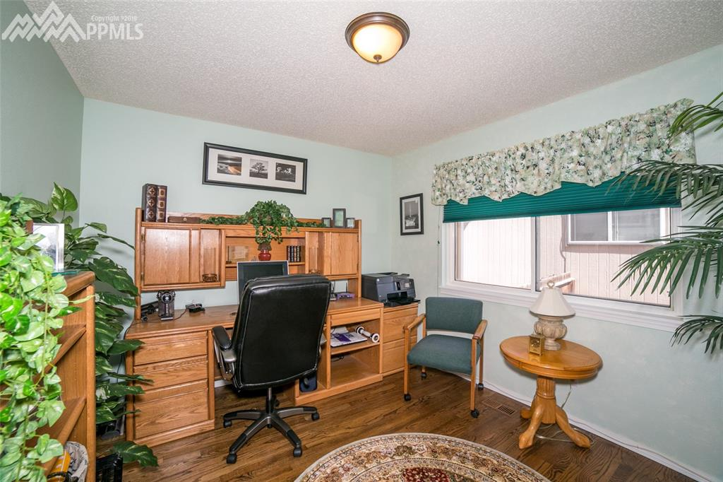 Office on main level could also be used as bedroom but doesn't have closet