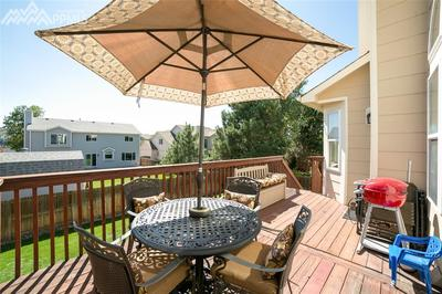 Enjoy the Colorado summers on this beautiful deck