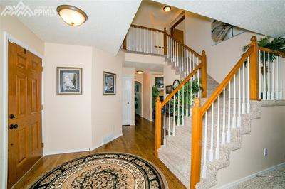 Wood floors and carpet on main level