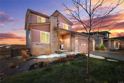 Located in the coveted neighborhood of Candelas. This home is located on a quiet