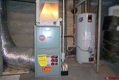 Newer furnace and hot water heater