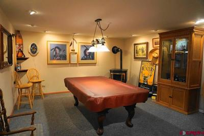 Basement; pool table included in sale price