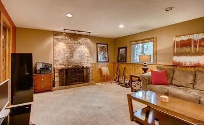 Lower level family room would make an ideal master suite option.