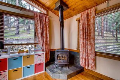 Stove in master suite.