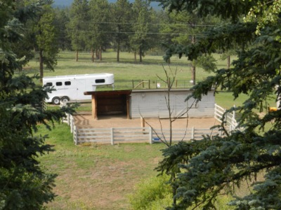 2 Stalls, Used for Hay Storage