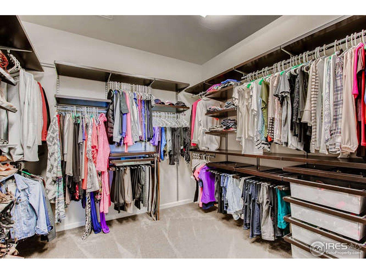 Cusom designed closet