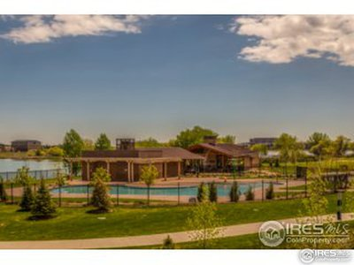 Beautiful pool, clubhouse and lakes
