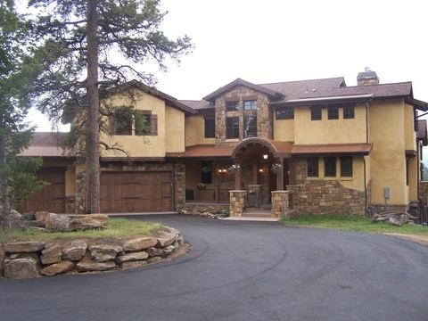 Stunning Tuscan Style stone and stucco home!