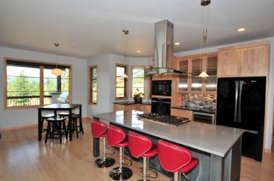Sleek designer kitchen